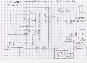 My Plasma Speaker Schematic
